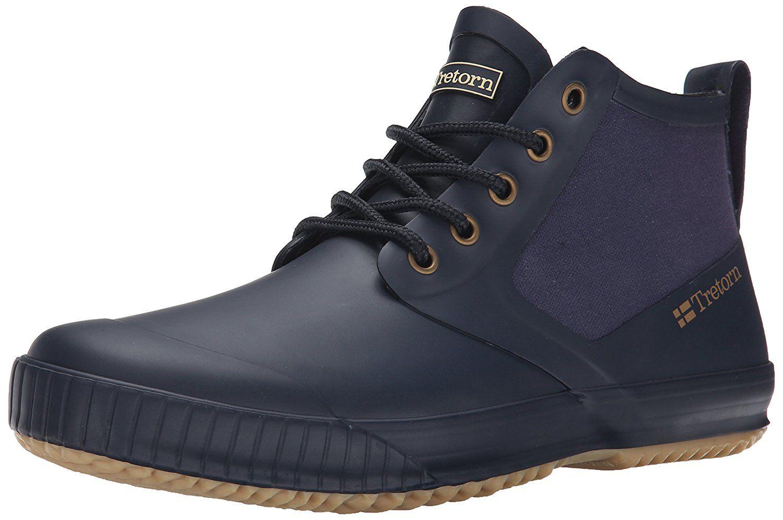 Amazon com   Tretorn Men's Gunnar Rain Shoe   Rain Footwear is part of Rain shoes -