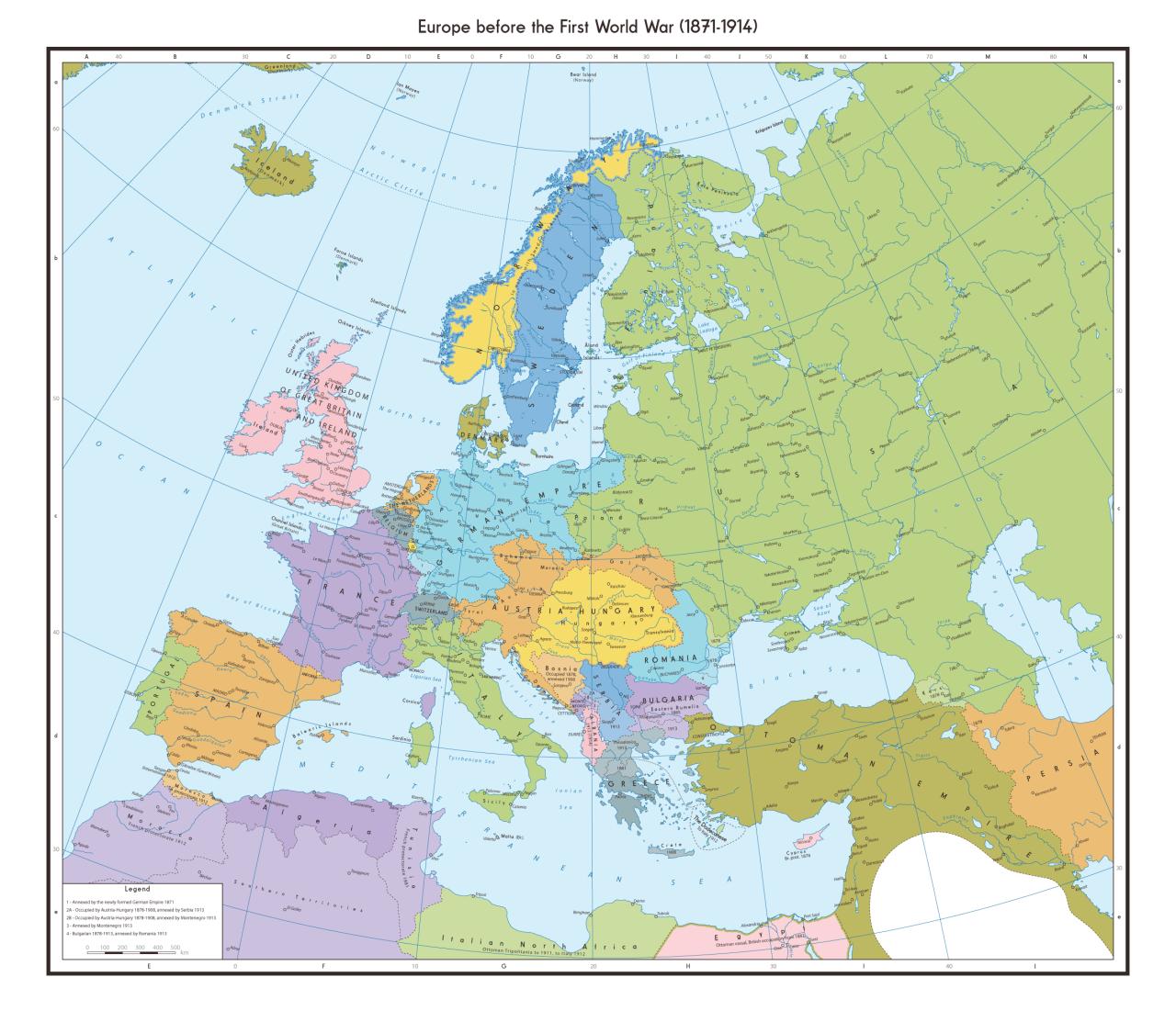 Europe Before The First World War