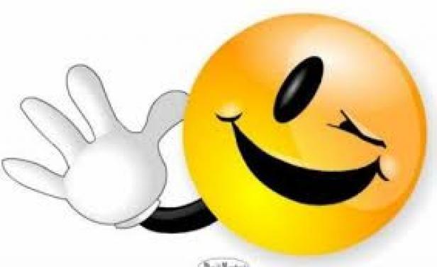 IMAGENES DE EMOTIONS | Saludo de emoticon guiñando un ojo ...