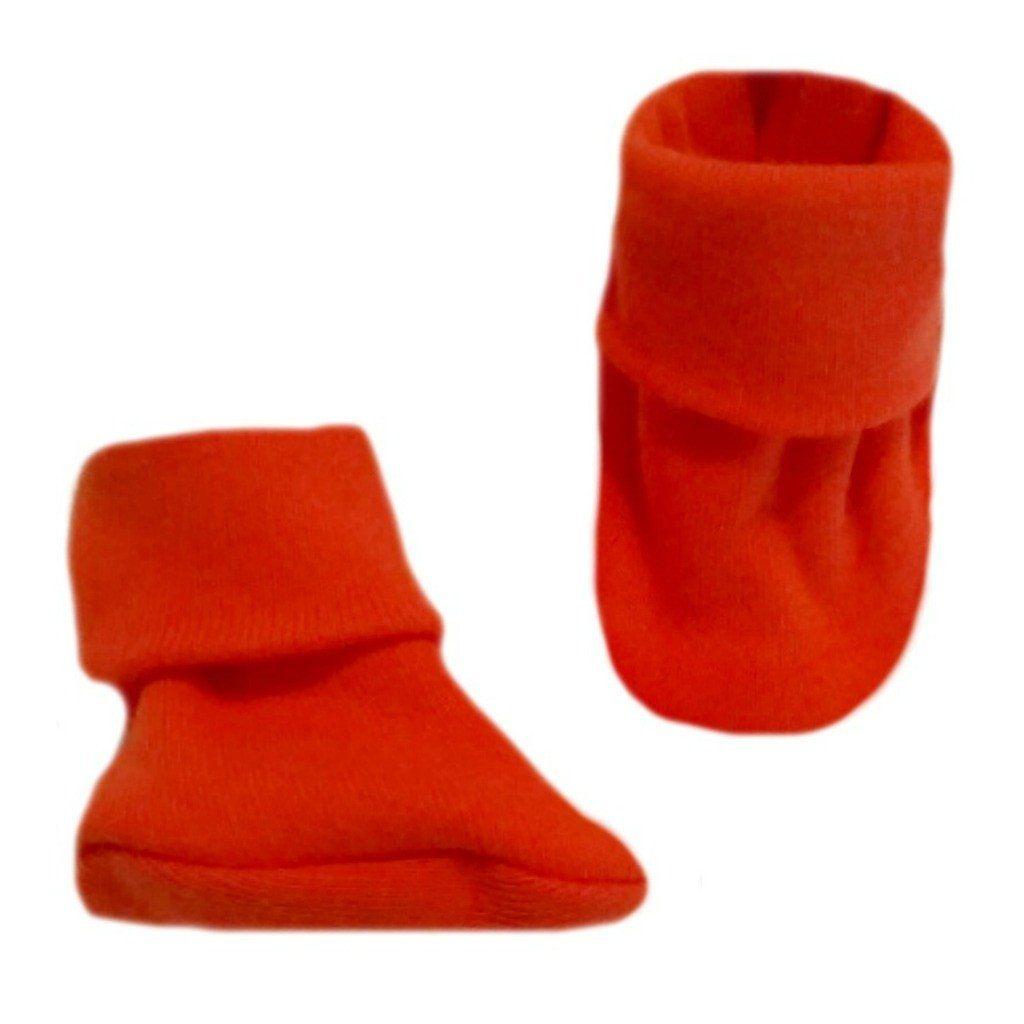 Unisex Baby Red Booties Crib Shoe Socks 5 Preemie and Newborn Sizes