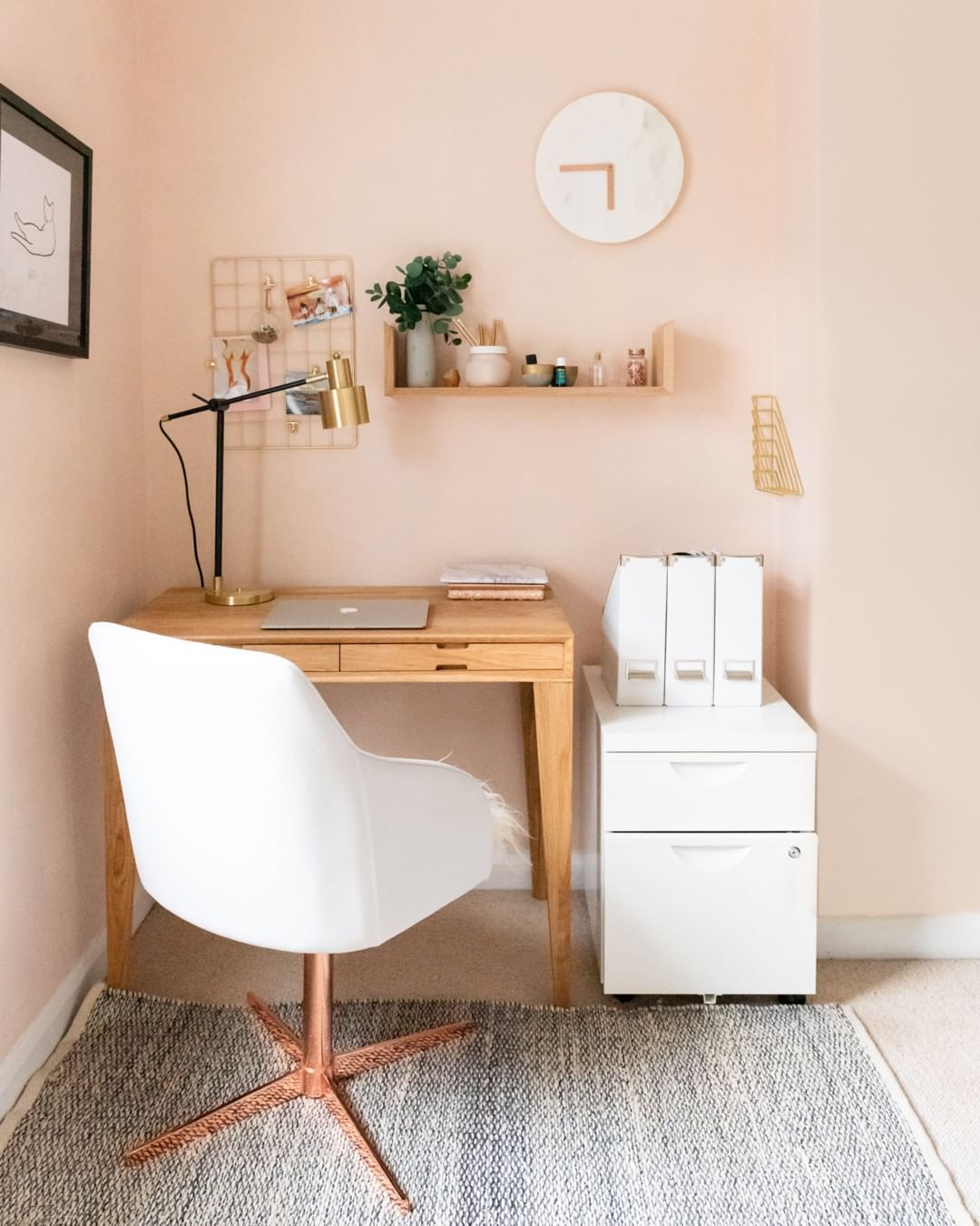 Our Floating Oak Desk Is Kind Of Famous Today It Was Featured In Metro Co Uk Along With A Little Writ Tiny Home Office Small Bedroom Office Home Office Decor Bedroom office ideas uk