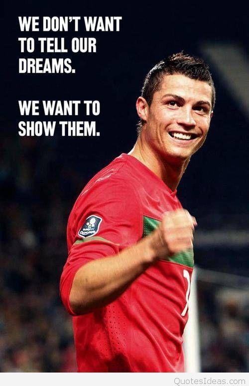 Inspirational Cristiano Ronaldo Quotes Wallappers Hd Fussball Football Zitate Portugiesische Fusballnationalmannschaft