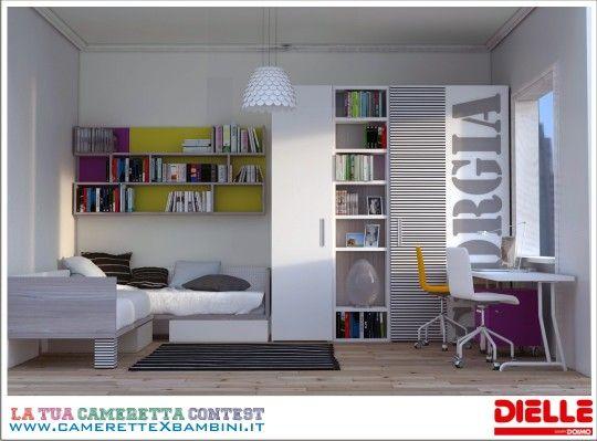 Dielle Camerette ~ Cameretta dielle teen bedroom idea bedrooms