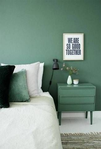 26 Bedroom Paint Colors For Cohabitating Couples Green Bedroomsbedroom  Decorating Ideasexterior