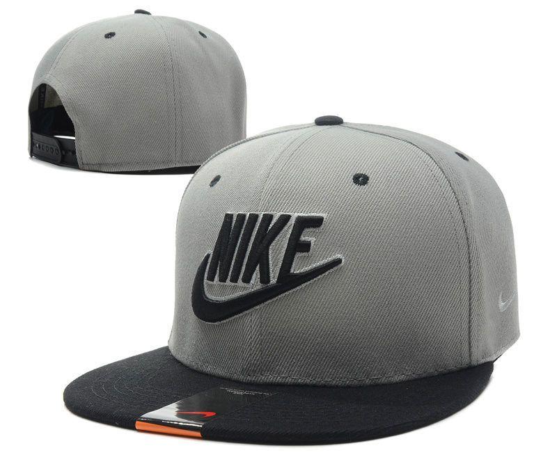 New Fashion gray bboy brim adjustable baseball cap snapback hip-hop ... 894c1fac212