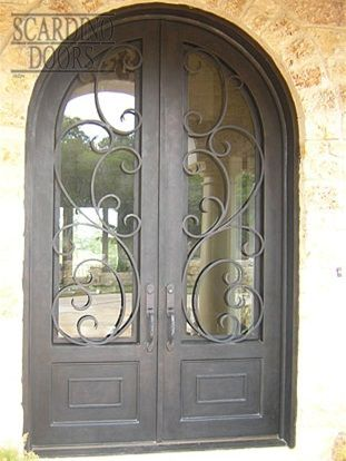 4c42ca701690db0e98b0cfdb0216621d.jpg & Modern Art Arched Ornamental Wrought Iron Doors with Floral Pattern ...