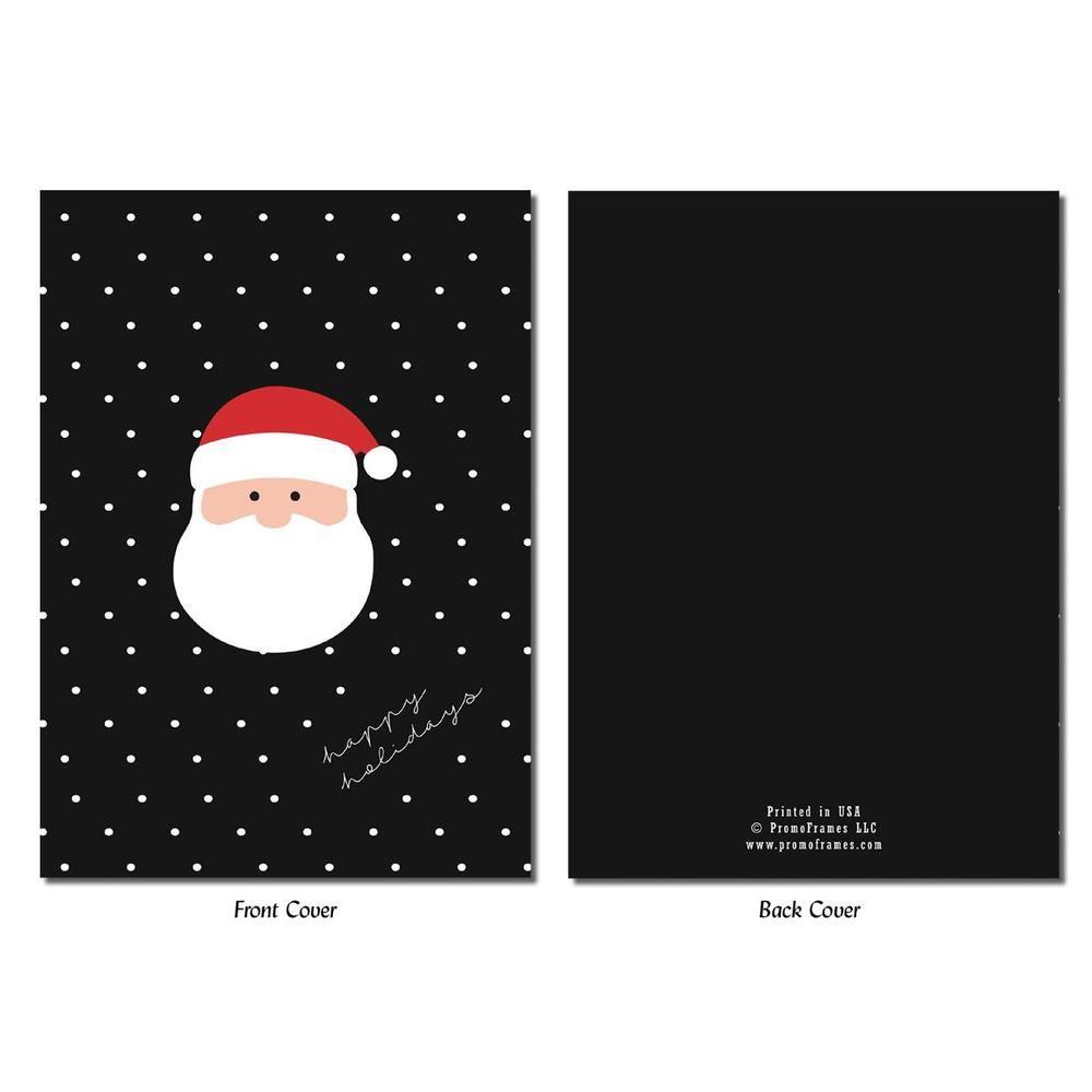 Santa S Face Photo Insert Card Photo Insert Cards Santa Face Cards