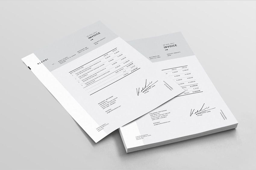 Fashion Invoice Template   email   Pinterest   Template Fashion Invoice Template