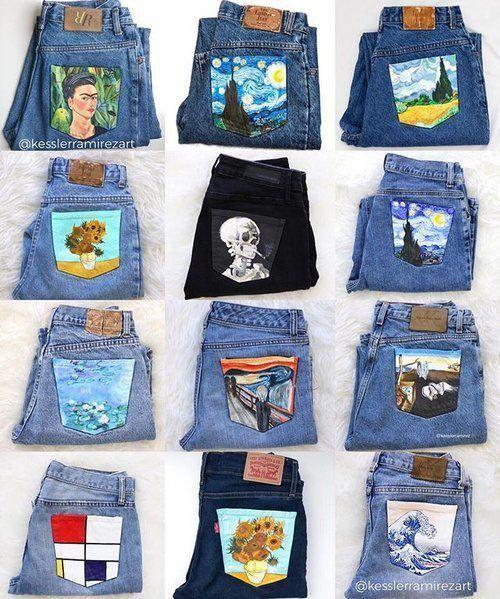 Guide On Wearing Jeans Wearingjeanstips Á‹ãŽé‡ç·¨ã¿ Þルシェバッグ Á‹ãŽé‡ç·¨ã¿ãƒãƒƒã'° Ư›ç³¸ Ɖ‹ç·¨ã¿ Ropa De Bricolaje Confeccion De Ropa Ropa Pintada