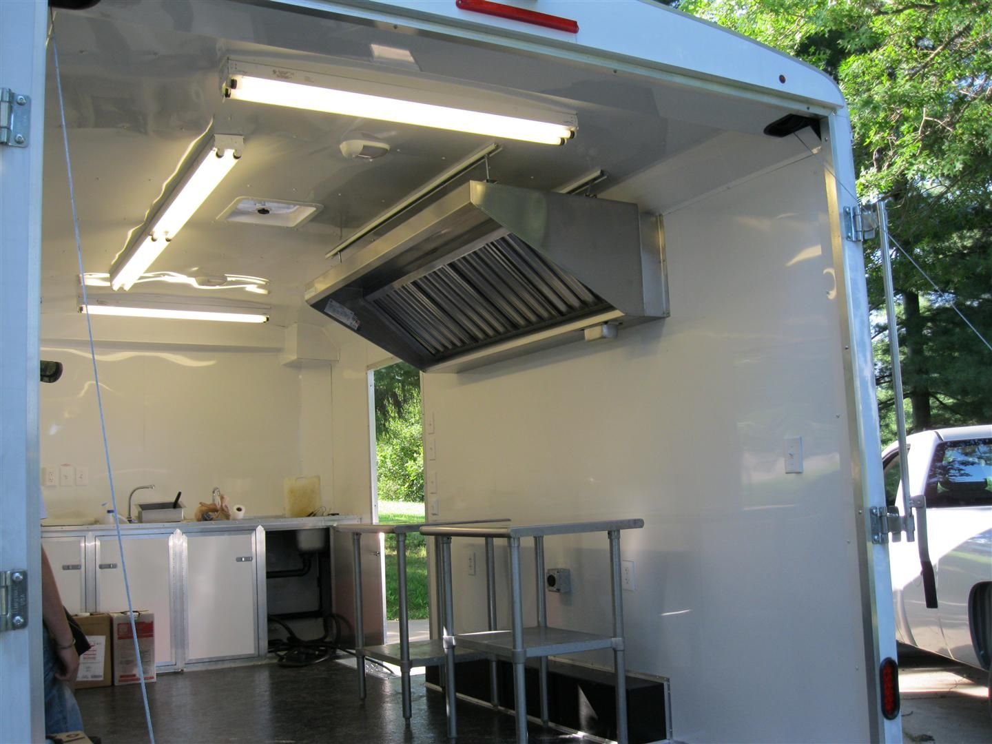 Mobile Kitchen Ventilation California