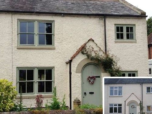 Painswick Green Victorian Style Solidor Amp Mock Sash Windows