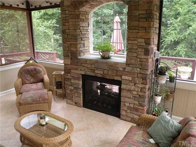 Porch Fireplaces
