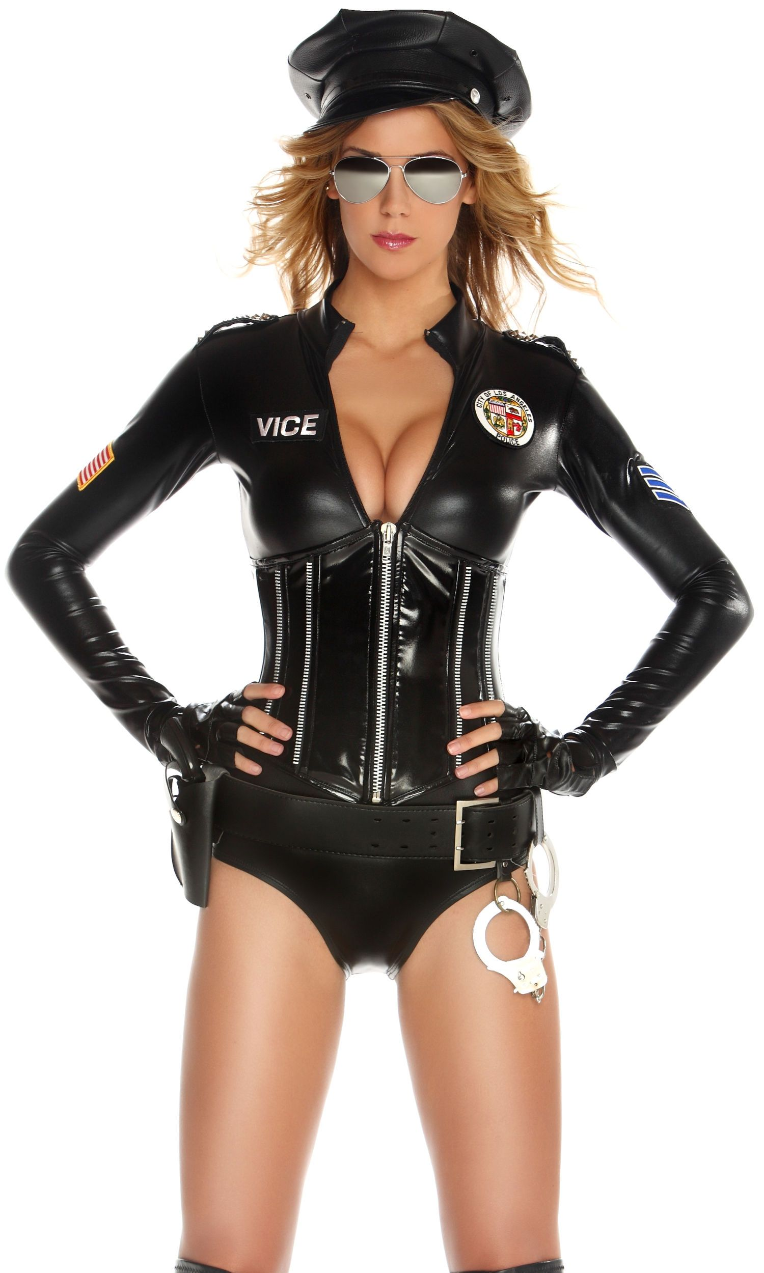 forplay top picks sexy police officer halloween costume mrs officer by forplay - Girls Cop Halloween Costume