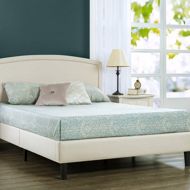 Stanhope Upholstered Low Profile Platform Bed Platform Bed Mattress Metal Platform Bed Upholstered Platform Bed