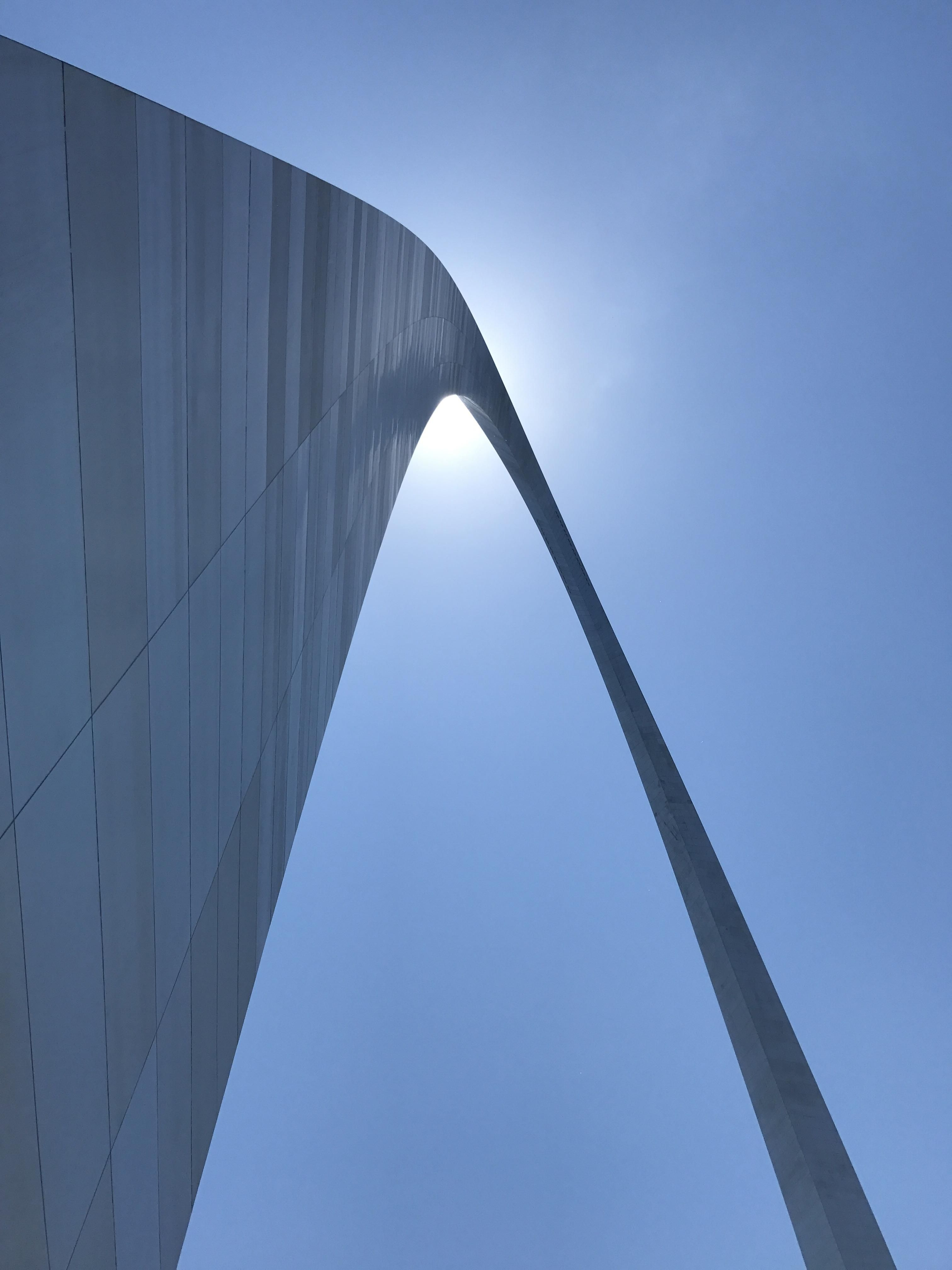 Perfect day at the St Louis arch  Pics  Pinterest  Arch