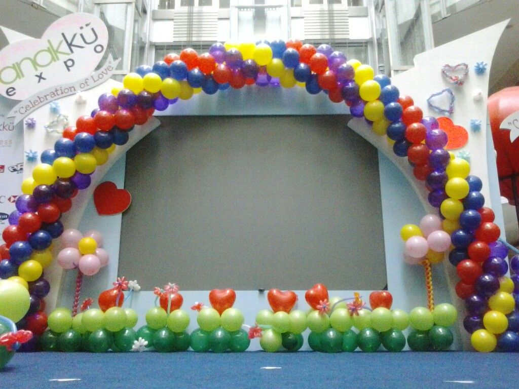 Balon Dekorasi Panggung Balon Dekor Dan Dekorasi