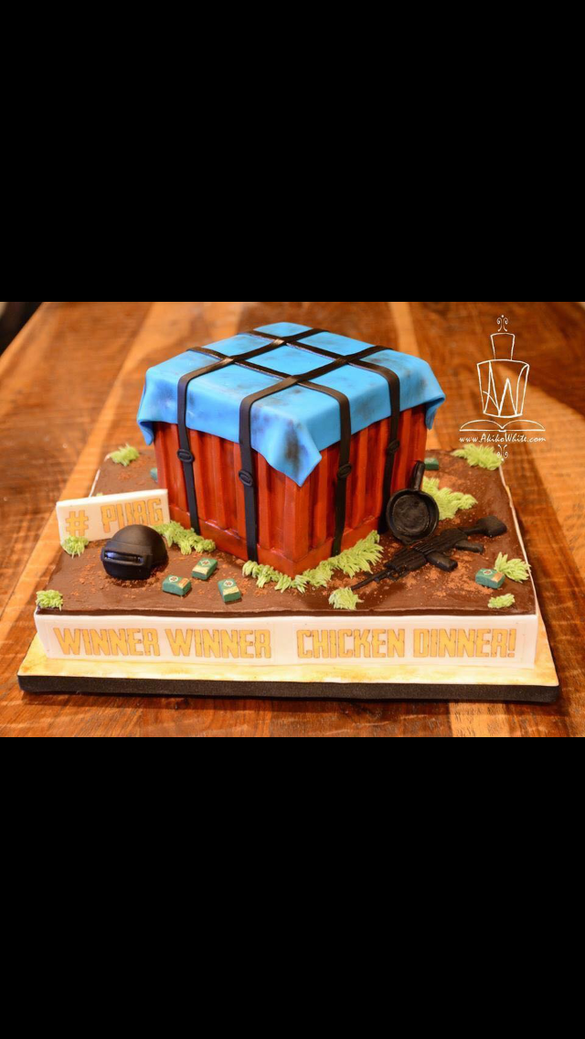 Pubg Supply Crate Torty In 2019 Cupcake Cakes Cake For