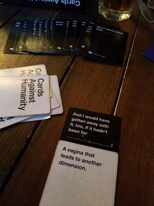 Andi Geekfitgirl On Twitter Cards Against Humanity