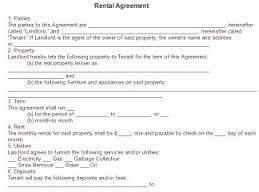 Free Residential Lease Agreement Forms To Print  Google Search