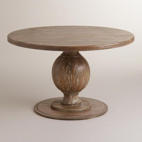 Round Blanca Table Dining Table Rustic Dining Room Table Round Dining Table