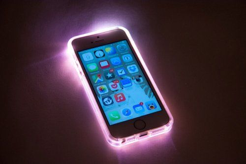 coque iphone xr led