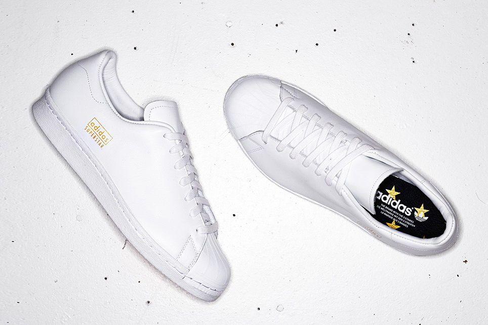 Adidas superstar degli anni ottanta pulito
