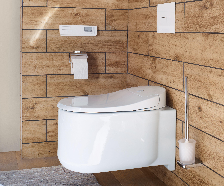 Sanibel Dusch Wc 3001 Family Wc Mit Dusche Dusche Badezimmer