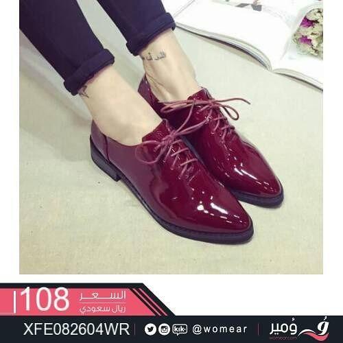 لاناقة عصريه جذابه حذاء نسائي ستايل كاجوال احذية شوز جزمه جزمات موديلات Oxford Shoes Womens Oxfords Shoes