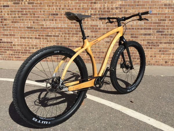 Mountain Cruiser Wood Bike Cruisers Bicycle