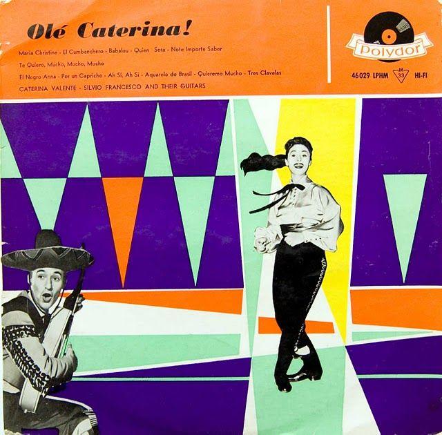 Ole Caterina - 1950s Album Cover. via retrographica