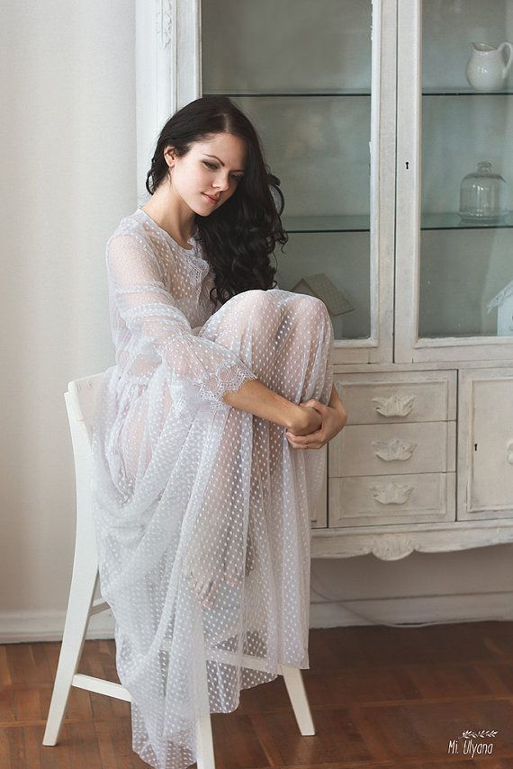 Bridal boudoir boudoir dress wedding dress by AnnaSkoblikova