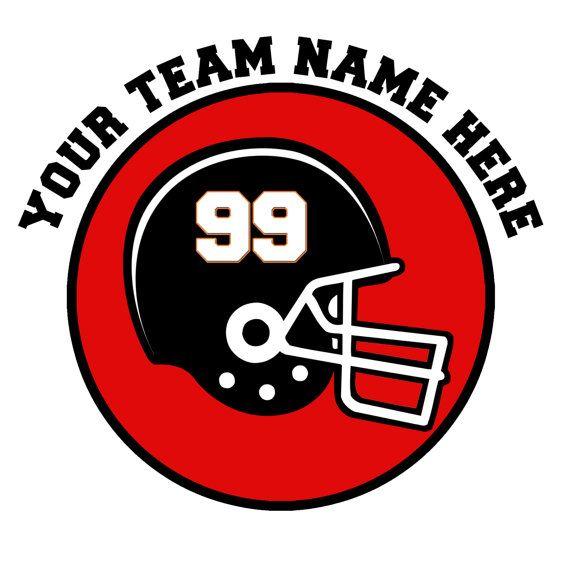 Custom Personalized Car Window Decal Sticker Football Team Player - Team window decals personalized