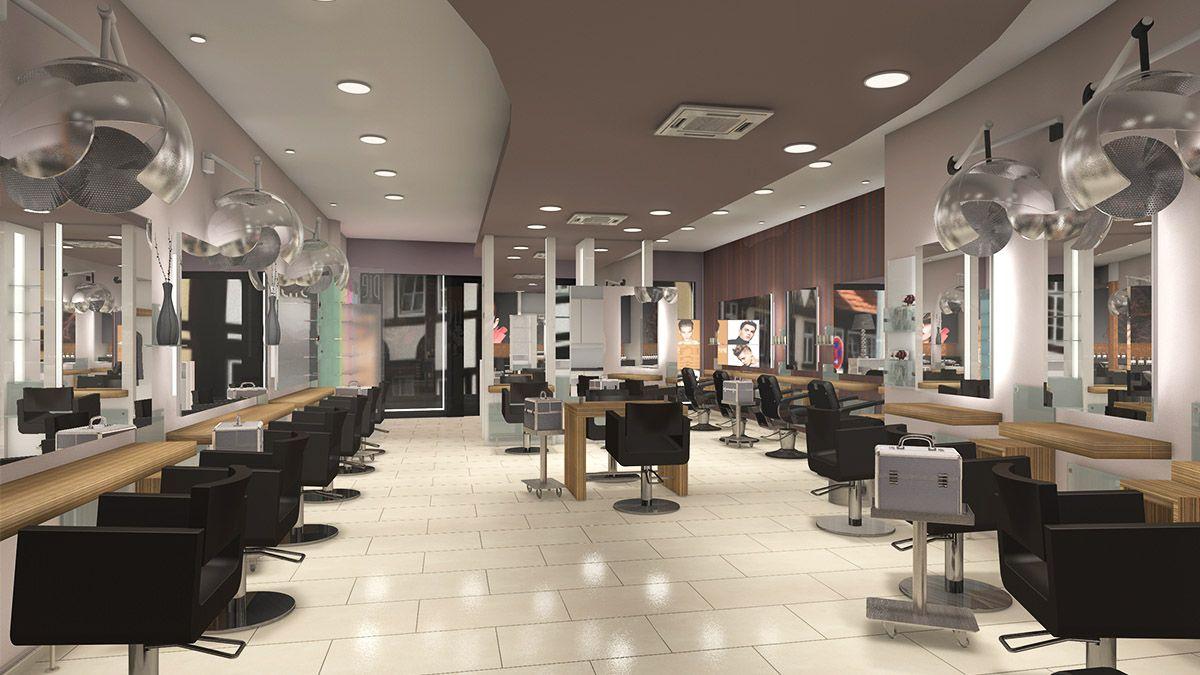3d Salonkonzept Von Idea Friseureinrichtungen Friseursalon Rendering Hair Beauty Salon Furniture Design Innenarchitektur Friseureinrichtung Raumgestaltung