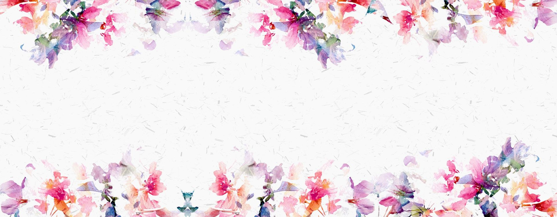 Hand Painted Watercolor Flowers Background Watercolor Flower