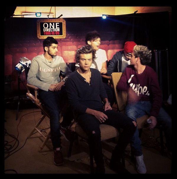 Round 2 of #1dmovie interviews!