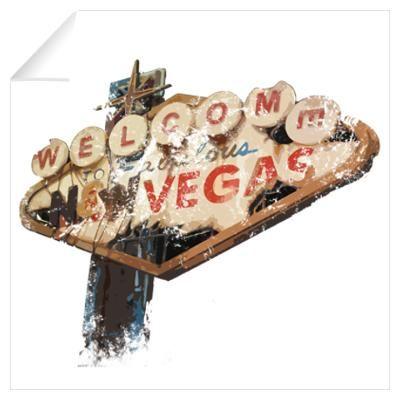Fallout New Vegas Sign Wall Art Wall Decal | Gaming ...