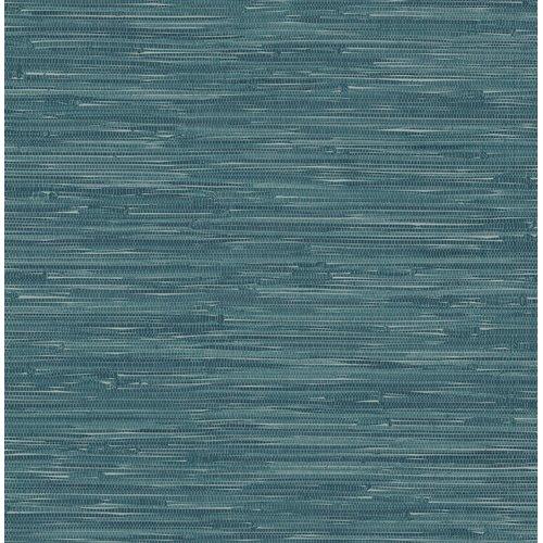 Ami Natalie Grasscloth 10 05m X 52cm Plain Roll Wallpaper Hazelwood Home Colour Teal Grasscloth Wallpaper Grasscloth Brewster Wallcovering
