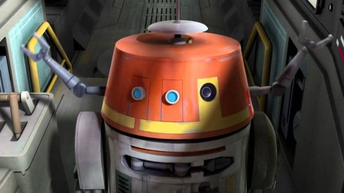 """C1-10P (""""Chopper"""") is sort of the star of the show in Rebels, so it's likely that he will be one of the hottest figures from the first wave. Description from jeditemplearchives.com. I searched for this on bing.com/images"""