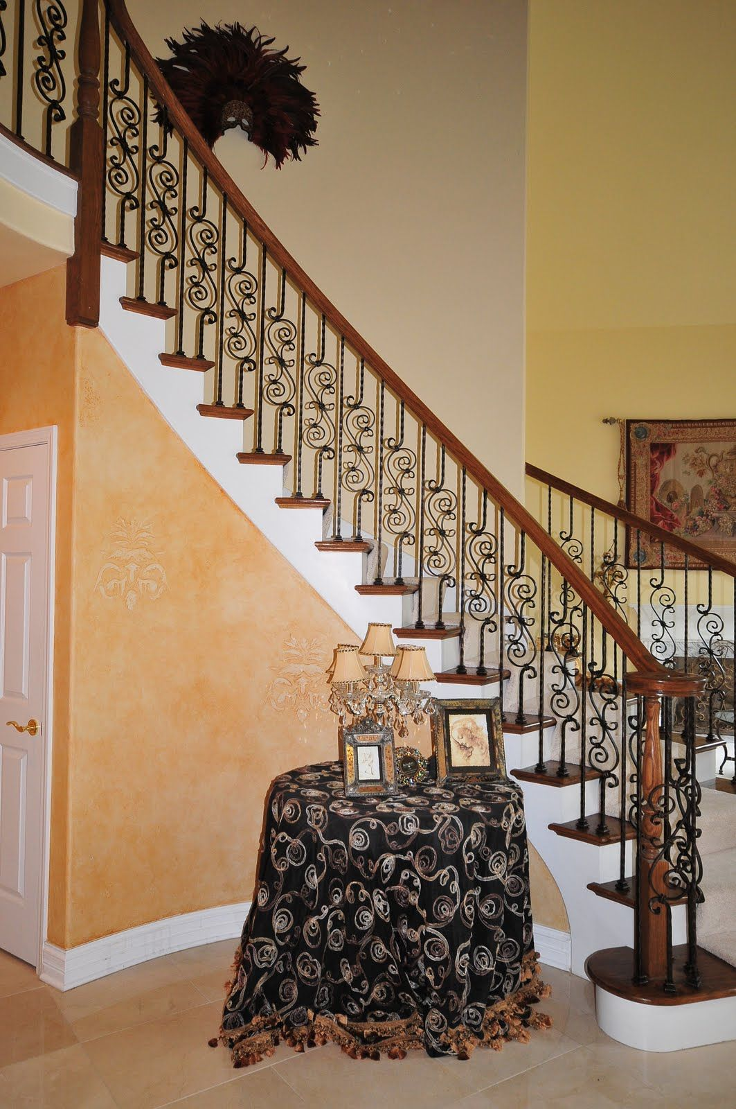 Stair Railing Ideas | Naperville Stairs And Railings With Iron Balusters