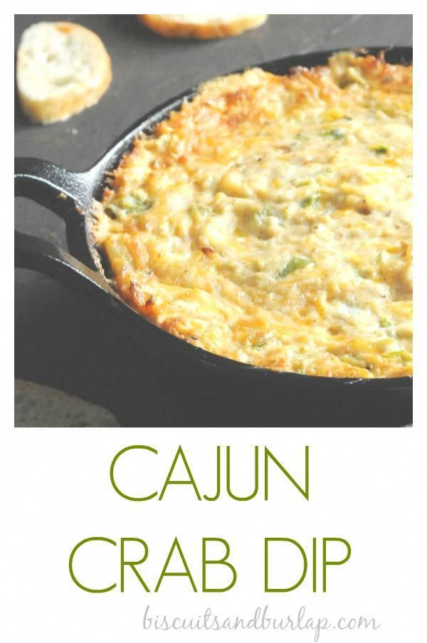 Loads of lump crab meat, cheese and a little Cajun kick will make this easy crab dip one of your favorites. mardisgras