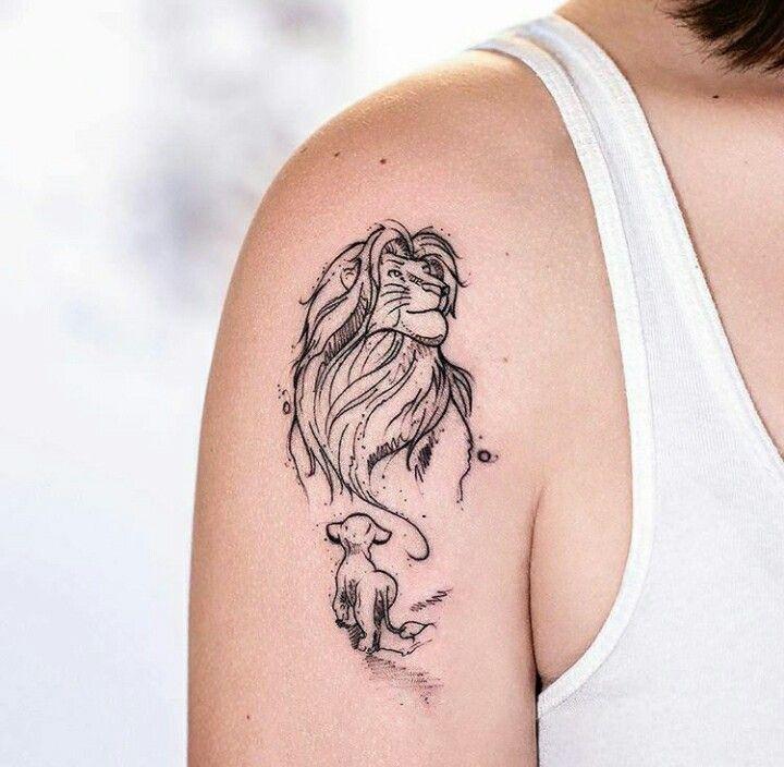 Tattoo Do Rei Leão #tattoo
