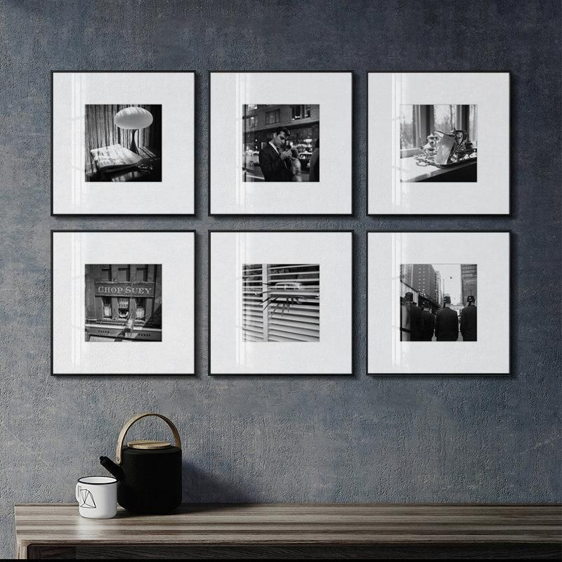 Photo of Figure Print Wall Art Home Decor Poster Retro Landscape Picture Nordic Minimalist Black and White Canvas Painting for Bedroom – 20x20cm no frame / A