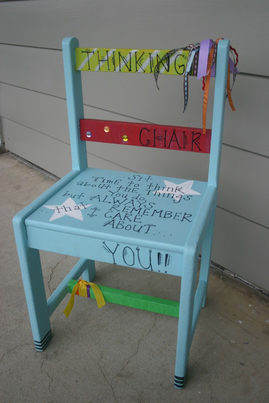 Thinking Chair Quotthinking Chair Quot Used Within The Classroom For Thinking