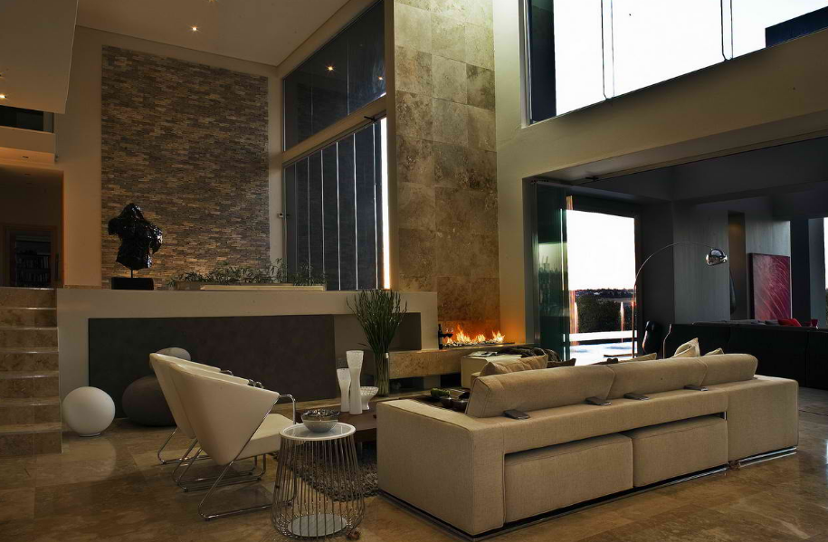 Outstandingly beautiful living room warm and cozy love that interior amazing credits