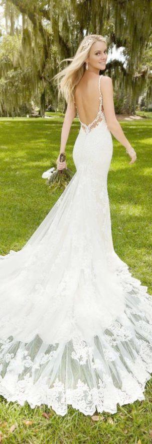 Lace Wedding Dresses Ottawa Tiered Lace Mermaid Wedding Dress With Beading Designer Wedding Gowns Wedding Dresses Wedding Dresses Lace