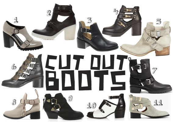 CUT OUT shoes - Style has No size