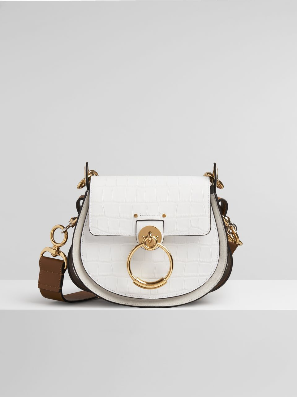 Small Tess Bag In Embossed Croco Effect On Calfskin Chloe Us Womens Designer Bags Bags Day Bag,Modern Exhibition Stand Design