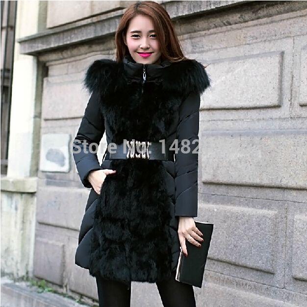 Photo of New 2014 Luxury Style Women Winter Down Dress