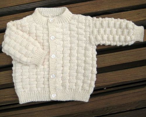 Knitting Patterns Baby Pinterest : We Like Knitting: Basket Weave Baby Sweater - Free Pattern Knitting Pinte...