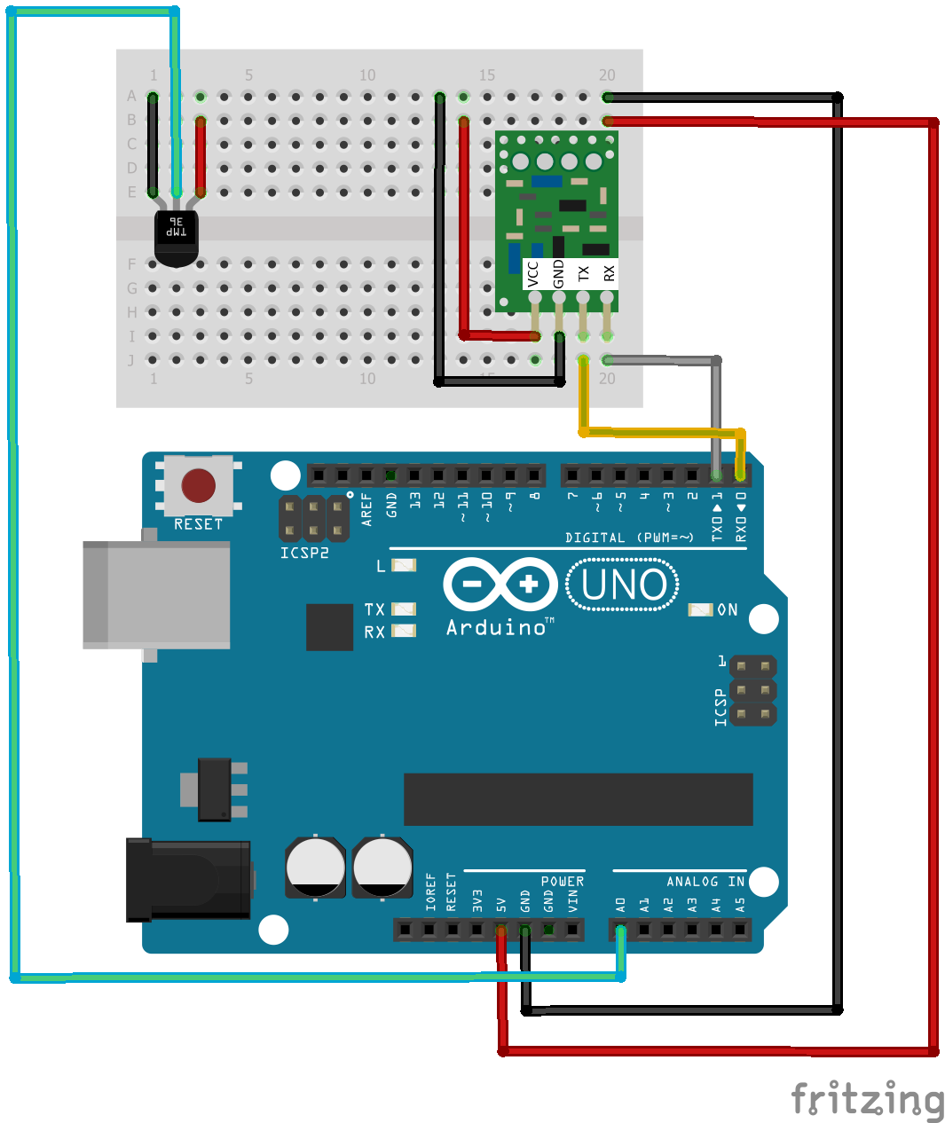 Going From Schematic To Breadboard Arduino Build Your Own Circuit On A Step By Explanation Of How Read And